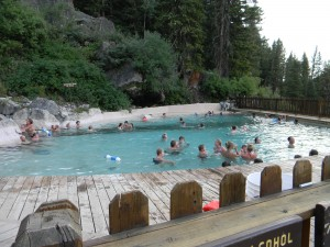 Granite Hot Springs Pool